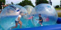 Chippewa Falls Springfest, Zorb Balls