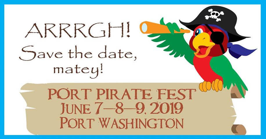 Wisconsin Weekend: Port Pirate Fest in Port Washington, June 7-9. 2019