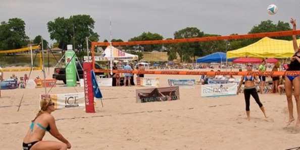 EVP Beach Sports Festival, Racine's North Beach