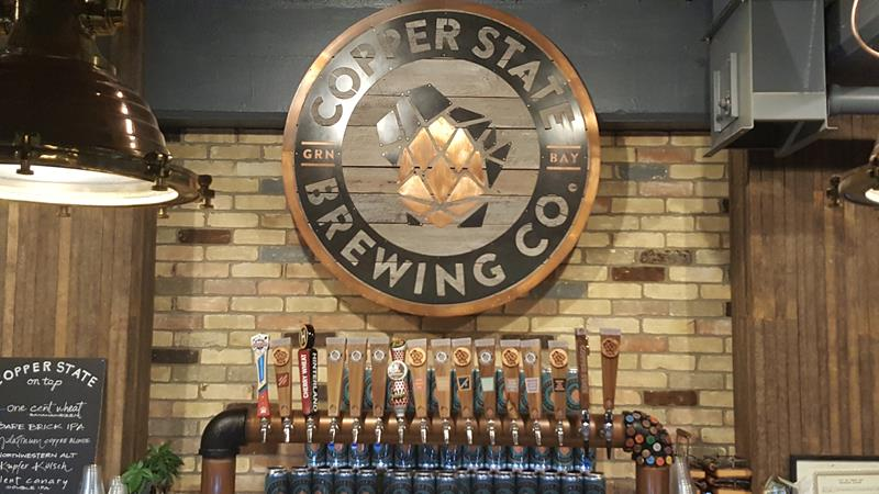 Copper State Brewing Company, Green Bay, Wisconsin