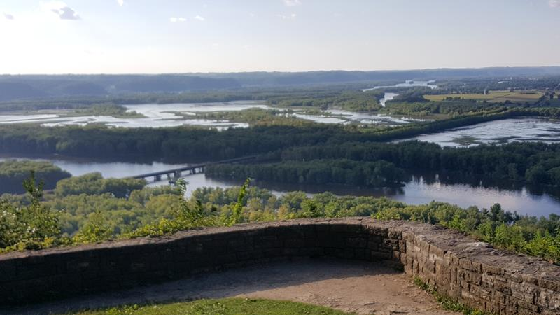 Wyalusing State Park's Point Lookout