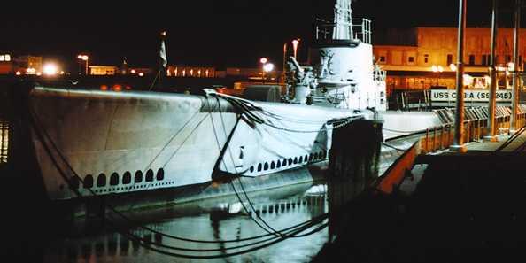 Haunted Sub USS Cobia