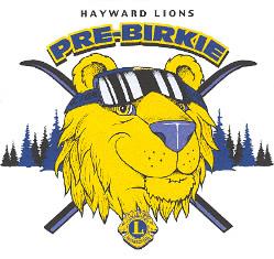 Hayward Lions Pre-Birkie logo