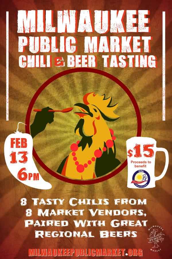 Milwaukee Public Market Chili & Beer Tasting 2018
