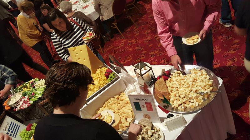 Cheese Championship sampling