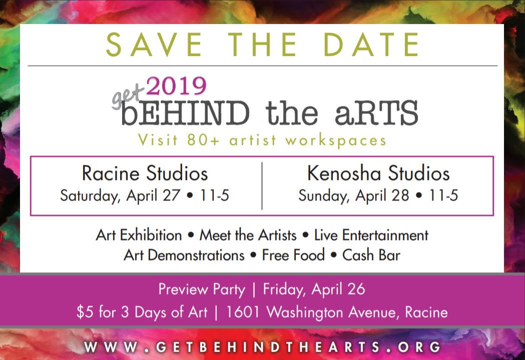 Get Behind the Arts, Racine and Kenosha