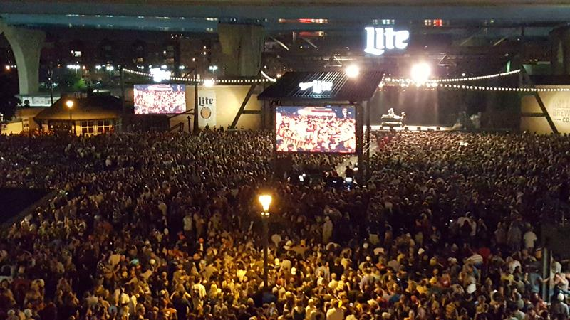 Summerfest 2018 crowd