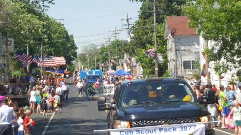 Waubeka Flag Day Parade