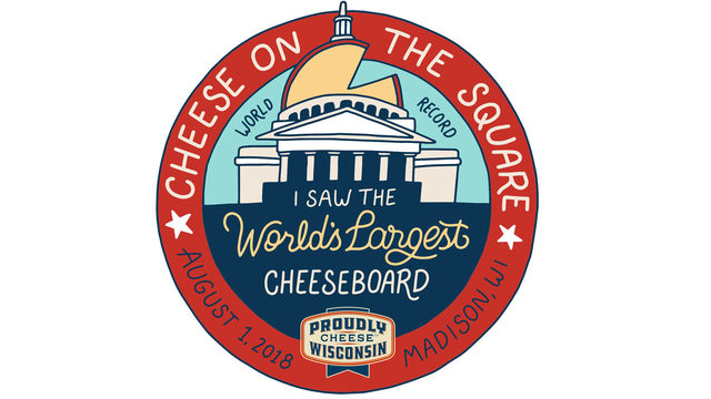 Madison goes for the World's Largest Cheese Board Wednesday