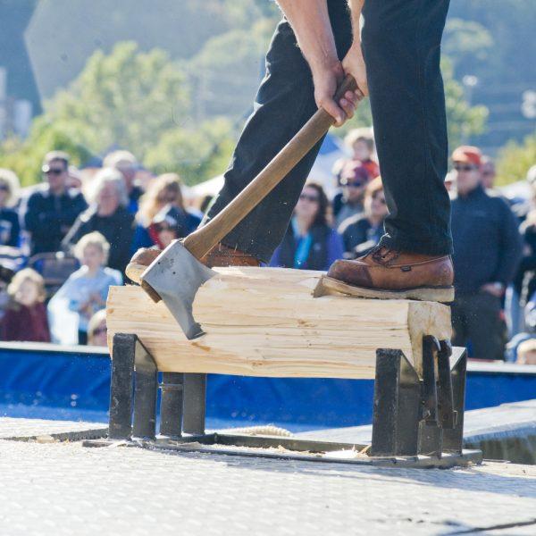 Lumberjack Fall Fest in Marshfield