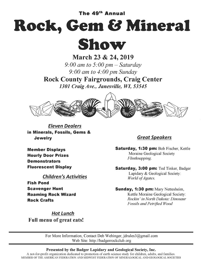 Rock Gem Mineral Show, Janesville