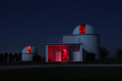 Modine-Benstead Observatory in Union Grove for Open House