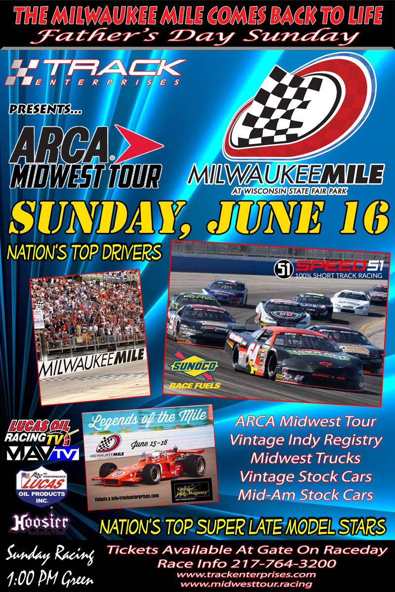 ARCA Races at the Milwaukee Mile