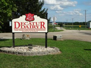 Decatur Dairy near Brodhead, Wisconsin