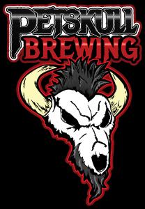 PetSkull Brewing logo, Manitowoc