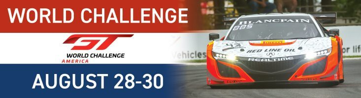 World Challenge at Road America, August 28-30, 2020