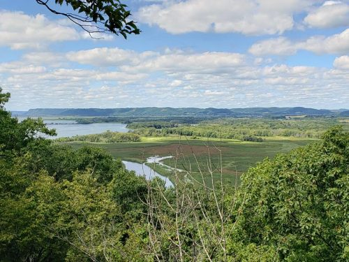 Mississippi River and slough views at Perrot State Park, Trempealeau, Wisconsin