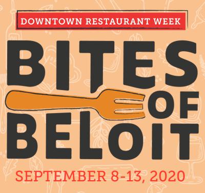 Bites of Beloit Downtown Restaurant Week, September 8-13, 2020
