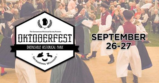 Germantown Hunsrucker Oktoberfest 2020 at Dheinsville Historical Park in Germantown, Wisconsin, September 26-27, 2020
