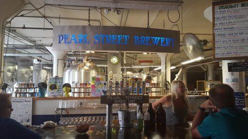 Tap Room at Pearl Street Brewery, La Crosse, Wisconsin