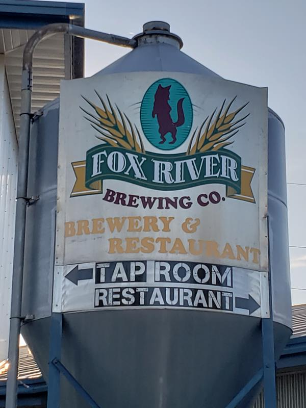 Fox River Brewing Company, Oshkosh, Wisconsin
