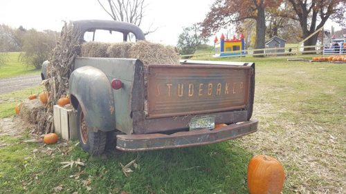 Old Studebaker at Mommsen's Pumpkin Patch & Orchard, Rice Lake, Wisconsin