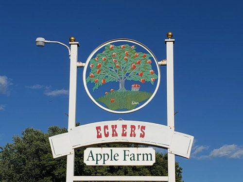 Ecker's Apple Farm along the Great River Road/Highway 35/Highway 54, Trempealeau County, Wisconsin