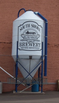Tank at South Shore Brewery's Ashland location