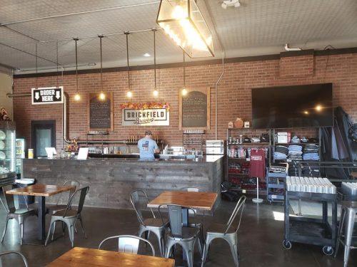 The Tap Room inside Brickfield Brewing Company, Grantsburg, Wisconsin