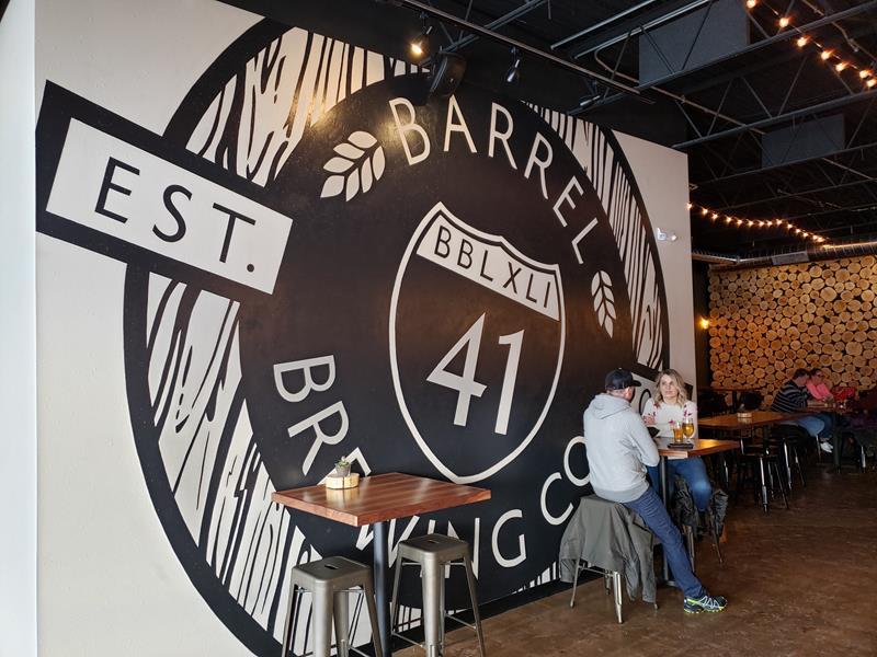 Barrel 41 Brewing Company, Neenah, Wisconsin