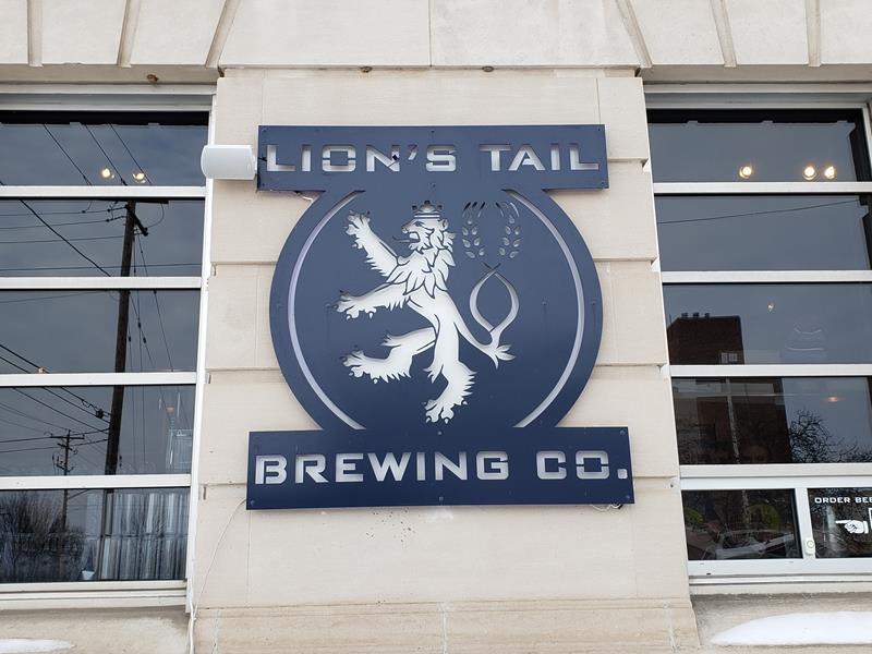 Lion's Tail Brewing Company, Neenah, Wisconsin