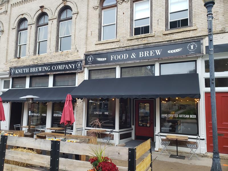 Knuth Brewing Company in Ripon, Wisconsin