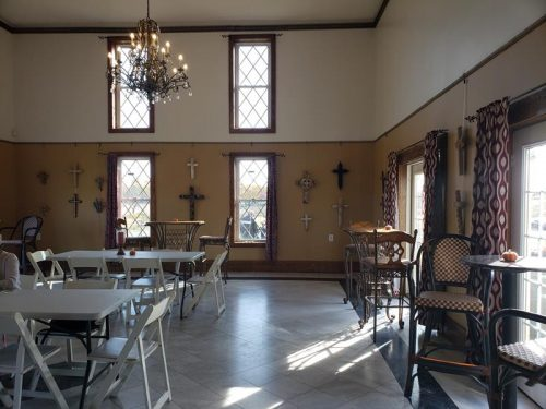 Another tasting room inside Chateau St. Croix Winery outside St. Croix Falls, Wisconsin