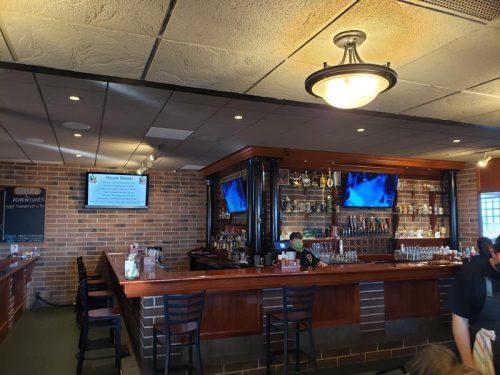 Bar at Faklandia Brewing, St. Francis, Wisconsin