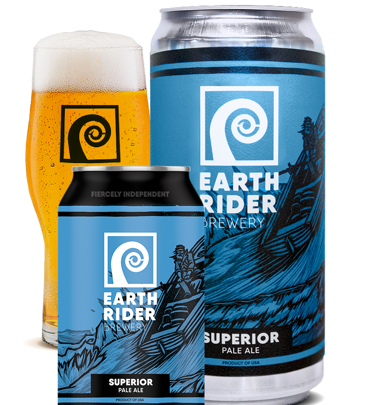 Superior Pale Ale, available at Earth Rider Brewing Company in Superior, Wisconsin