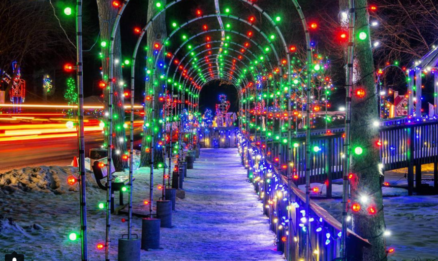 Wisconsin Holiday Weekend: Tons of Drive-Thru Holiday Lights, Farmers Markets, even some fun in the snow… Pick Some Roads and GO!