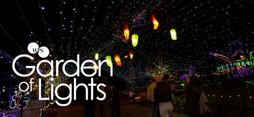 WPS Garden of Lights at the Green Bay Botanical Gardens