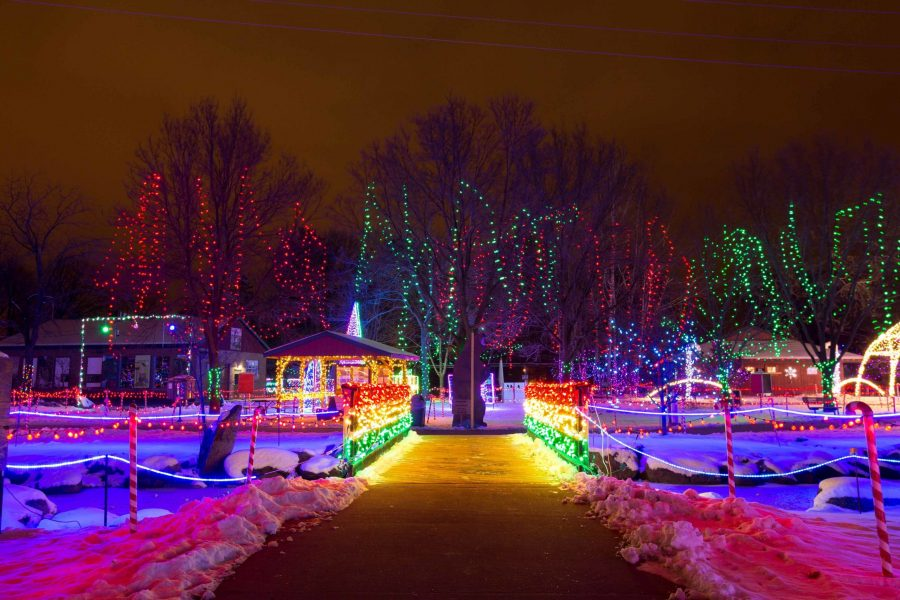 Marshfield Rotary Winter Wonderland in Marshfield, Wisconsin. Photo credit: Tyler Rickenbach/USA TODAY NETWORK-Wisconsin