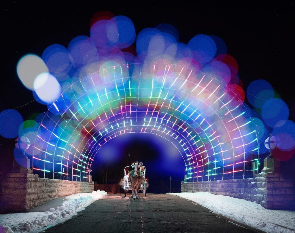 Celebration of Lights in Oshkosh, Wisconsin