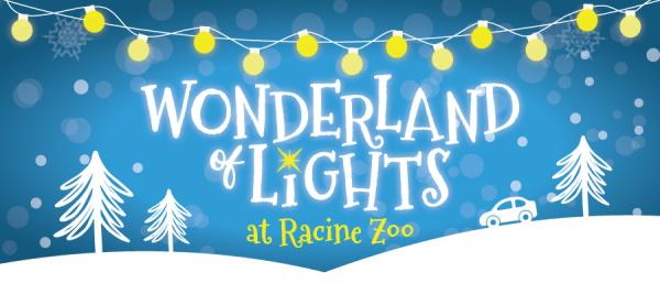 Wonderland of Lights at Racine Zoo