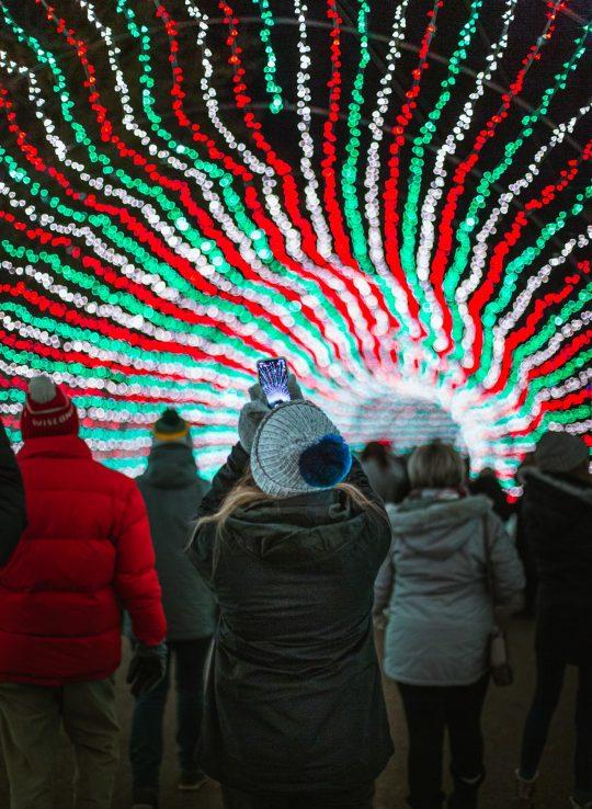 Sam's Christmas Village & Light Show, Somerset, Wisconsin