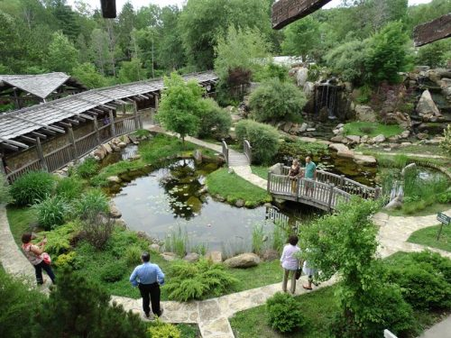 The gardens at House on the Rock, Spring Green, Wisconsin