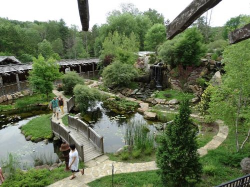 Central gardens at The House on the Rock, Spring Green, Wisconsin