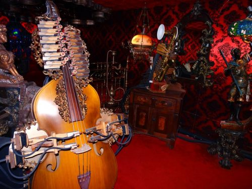 You'll hear these instruments automatically play as you walk through the buildings at House on the Rock in Spring Green, Wisconsin
