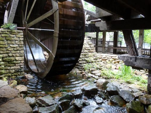 Waterwheel at House on the Rock, Spring Green, Wisconsin