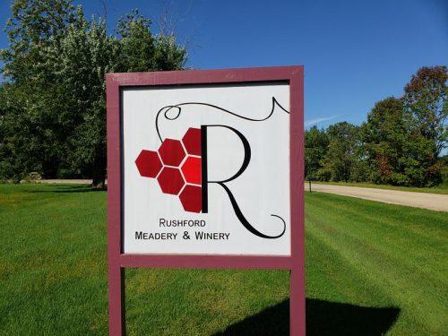 Rushford Meadery & Winery, outside Omro, Wisconsin