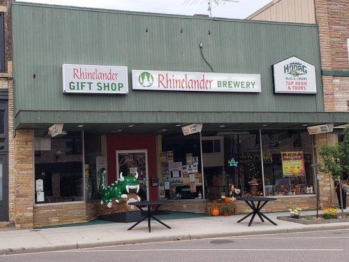 Rhinelander Brewery's location in downtown Rhinelander.