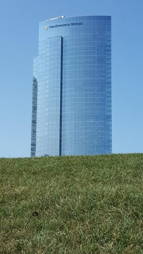 The Northwestern Mutual Commons building in Milwaukee, Wisconsin