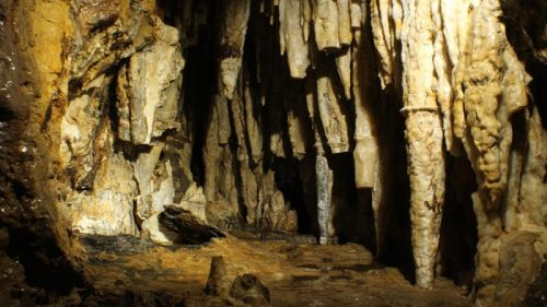 Surprise Cave inside Cave of the Mounds, near Mount Horeb, Wisconsin