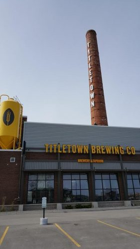 The Beerworks side of Titletown Brewing Company, Green Bay, Wisconsin